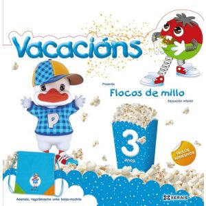 FLOCOS DE MILLO. VACACIONS 3 ANOS
