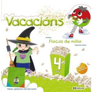 FLOCOS DE MILLO. VACACIONS 4 ANOS