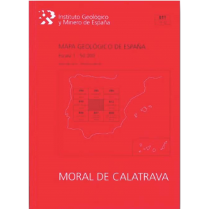 MAPA GEOLOGICO DE ESPAÑA. E 1:50.000. HOJA 811  MORAL DE CALATRAVA