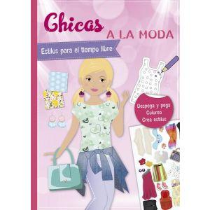 PEGATINAS. CHICAS A LA MODA. ESTILOS PARA EL TIEMP