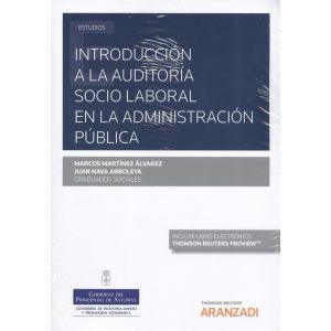 INTRODUCCION A LA AUDITORIA SOCIO LABORAL EN LA ADMINISTRACION PUBLICA (PAPEL +