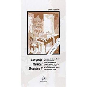 LENGUAJE MUSICAL MELODICO 2 + CD