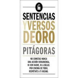 SENTENCIAS Y VERSOS DE ORO - PITAGORAS
