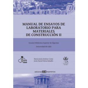 MANUAL DE ENSAYOS DE LABORATORIO PARA MATERIALES DE CONSTRUCCION II