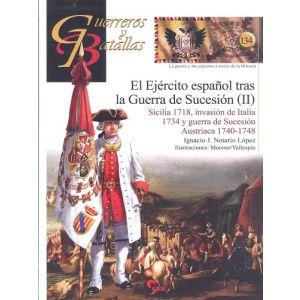 EJERCITO ESPAÑOL TRAS LA GUERRA DE SUCESION (II)