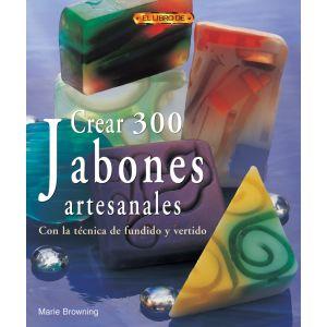 CREAR 300 JABONES ARTESANALES CON LA TECNICA DE FUNDIDO Y VERTIDO