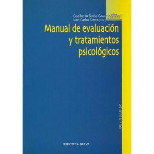 MANUAL DE EVALUACION Y TRATAMIENTOS PSICOLOGICOS