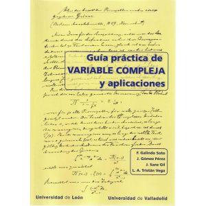 GUIA PRACTICA DE VARIABLE COMPLEJA Y APLICACIONES