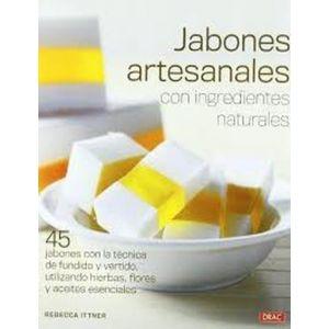 JABONES ARTESANALES CON INGREDIENTES NATURALES