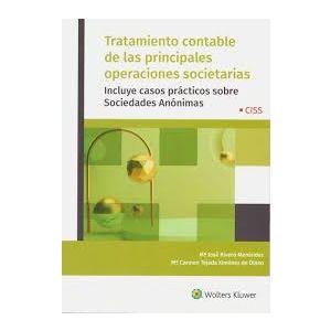 EL TRATAMIENTO CONTABLE DE LAS PRINCIPALES OPERACIONES SOCIETARIAS