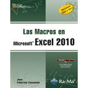 LAS MACROS EN EXCEL 2010