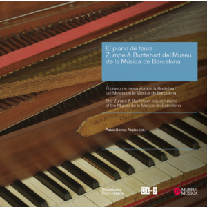 EL PIANO DE TAULA ZUMPE & BUNTEBART DEL MUSEU DE LA MUSICA DE BARCELONA - THE ZU