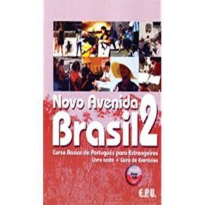 NOVO AVENIDA BRASIL 2 LIBRO + EJERCICIOS + CD CURSO PORTUGUES BRASILEÑO