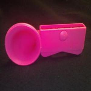 Altavox iphone 4s speaker rosa