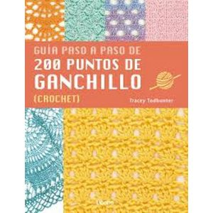 200 PUNTOS DE GANCHILLO (PASO A PASO)