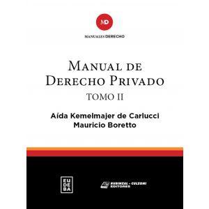 Manual de derecho privado. Tomo II