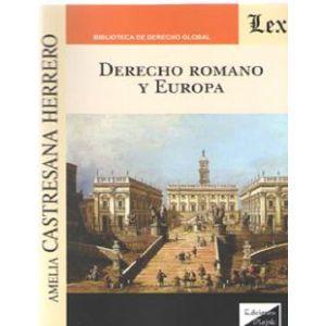 DERECHO ROMANO Y EUROPA