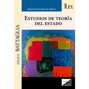 ESTUDIOS DE TEORIA DEL ESTADO
