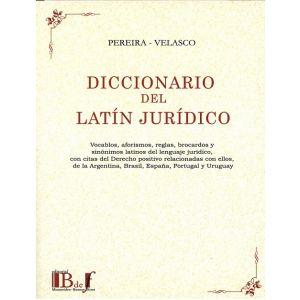 DICCIONARIO DEL LATIN JURIDICO