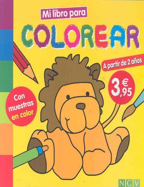 Mi Libro Para Colorear Leon
