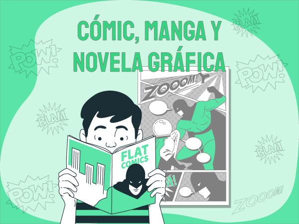 Cómic, manga y novela gráfica
